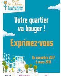 Depuis 2016, la Communauté d'Agglomération du bassin de Bourg-en-Bresse, la Ville de Bourg-en-Bresse, et Bourg Habitat sont engagés dans un projet de rénovation urbaine au quartier du Pont des Chèvres […]